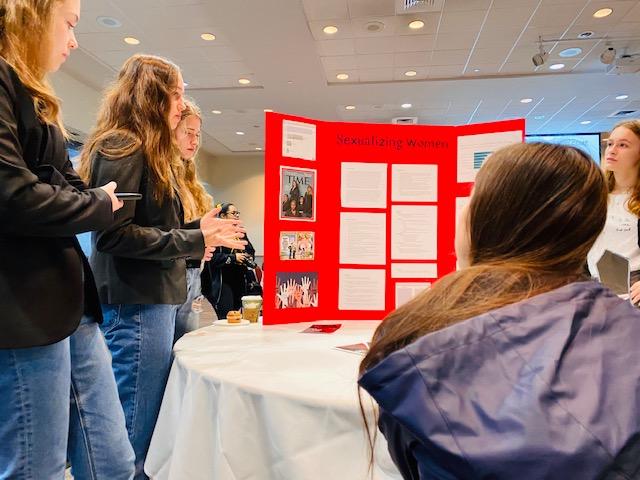 Upper School Students Present At Girls Global Summit Keystone School San Antonio Texas